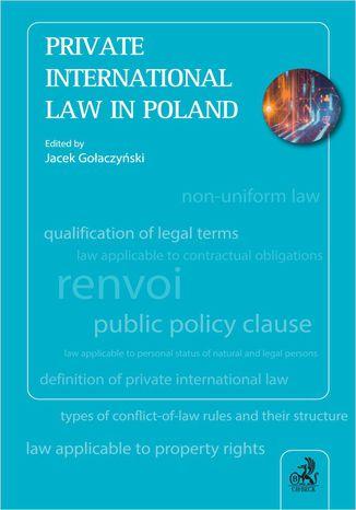 Okładka książki Private International Law in Poland