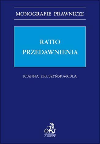 Okładka książki Ratio przedawnienia