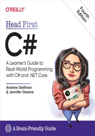 Okładka książki/ebooka Head First C#. 4th Edition