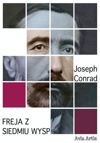 Okładka książki Freja z Siedmiu Wysp