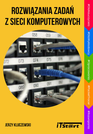 Okładka książki Rozwiązania zadań z sieci komputerowych