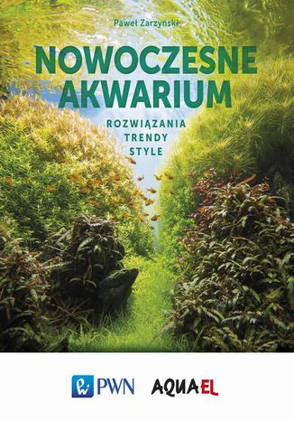 Okładka książki Nowoczesne akwarium