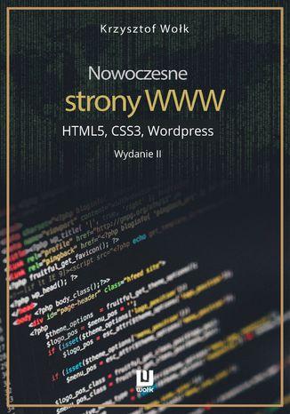 Okładka książki Nowoczesne strony WWW. HTML5, CSS3, Wordpress. Wydanie II