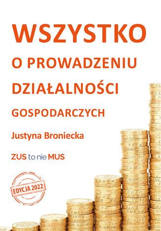 Okładka książki/ebooka Wszystko o prowadzeniu jednoosobowej działalności gospodarczej