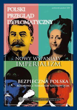 Okładka książki/ebooka Polski Przegląd Dyplomatyczny 4/2019
