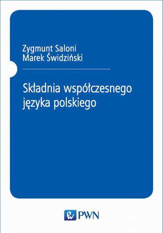 Okładka książki/ebooka Składnia współczesnego języka polskiego
