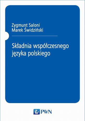 Okładka książki Składnia współczesnego języka polskiego