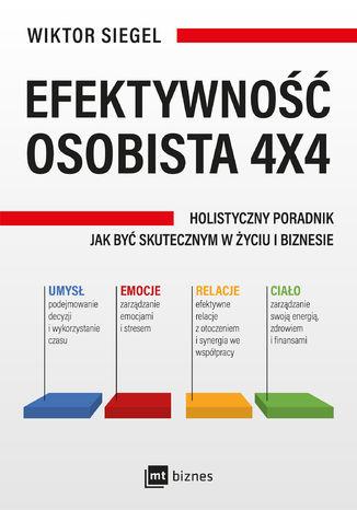 Okładka książki/ebooka Efektywność osobista 4x4