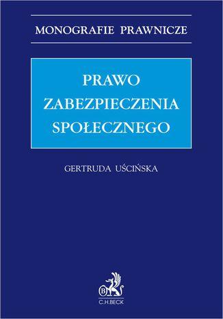 Okładka książki/ebooka Prawo zabezpieczenia społecznego