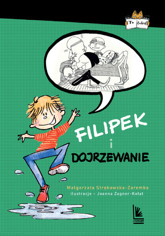 Okładka książki Filipek i dojrzewanie