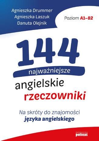 Okładka książki/ebooka 144 najważniejsze angielskie rzeczowniki