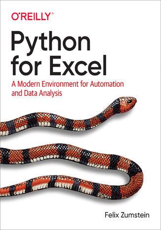 Okładka książki Python for Excel