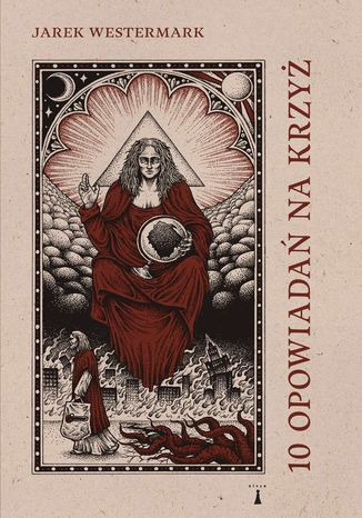 Okładka książki 10 opowiadań na krzyż