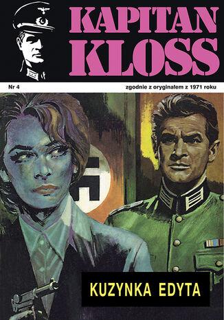 Okładka książki Kapitan Kloss. Kuzynka Edyta (t.4)