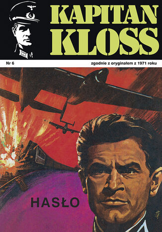Okładka książki Kapitan Kloss. Hasło (t.6)