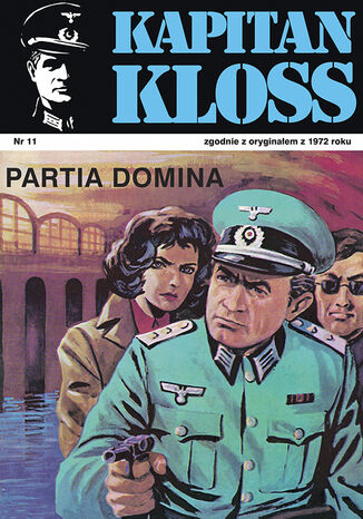 Okładka książki Kapitan Kloss. Partia Domina (t.11)