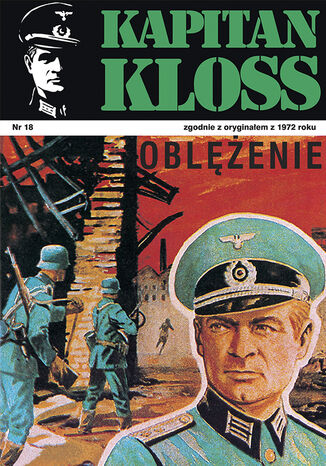 Okładka książki Kapitan Kloss. Oblężenie (t.18)