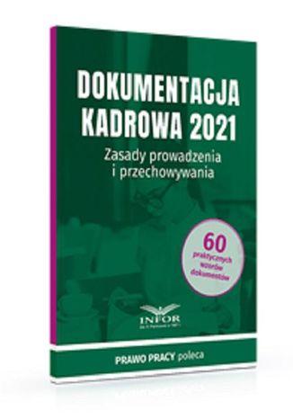 Okładka książki Dokumentacja Kadrowa 2021