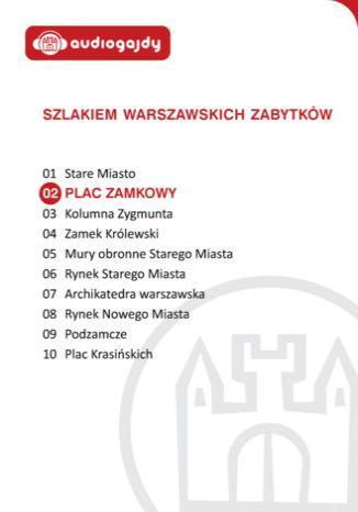 Okładka książki Plac Zamkowy. Szlakiem warszawskich zabytków