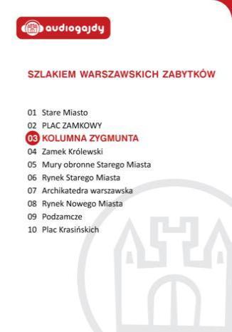 Okładka książki Kolumna Zygmunta. Szlakiem warszawskich zabytków