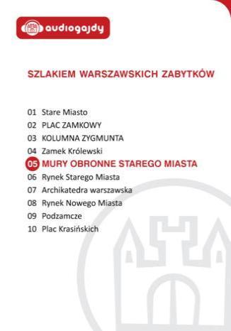 Okładka książki/ebooka Mury obronne Starego Miasta. Szlakiem warszawskich zabytków