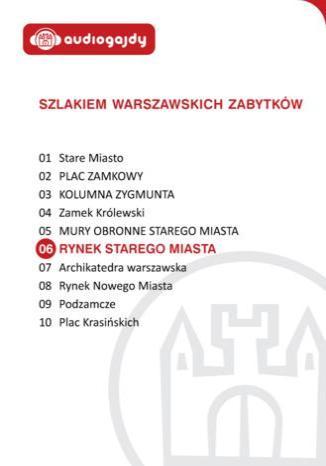 Okładka książki Rynek Starego Miasta. Szlakiem warszawskich zabytków