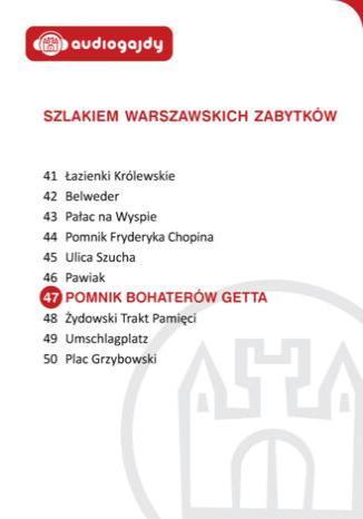 Pomnik Bohaterów Getta. Szlakiem warszawskich zabytków