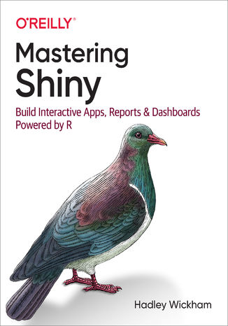 Okładka książki/ebooka Mastering Shiny