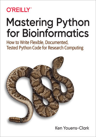 Okładka książki Mastering Python for Bioinformatics