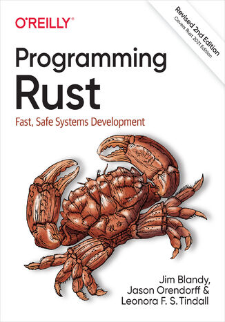 Okładka książki/ebooka Programming Rust. 2nd Edition
