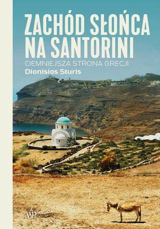 Okładka książki Zachód słońca na Santorini