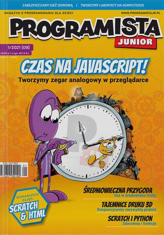 Okładka książki Programista Junior 1/2021 (9)