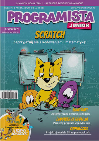 Okładka książki Programista Junior 5/2020 (7)