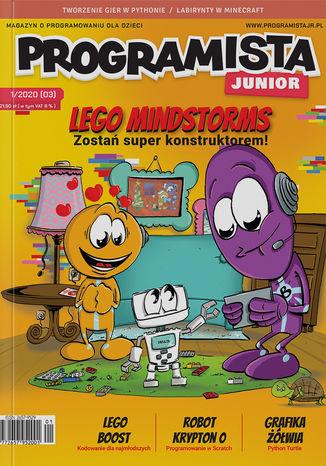 Okładka książki/ebooka Programista Junior 1/2020 (3)