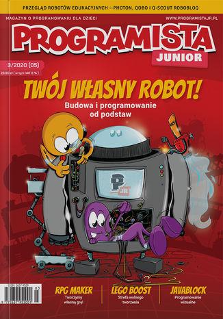 Okładka książki/ebooka Programista Junior 3/2020 (5)