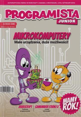 Okładka książki/ebooka Programista Junior 4/2020 (6)