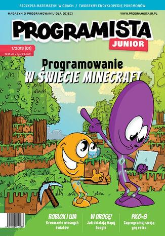 Okładka książki Programista Junior 1/2019 (1)