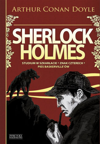 Okładka książki Sherlock Holmes Tom 1