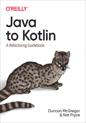 Okładka książki/ebooka Java to Kotlin