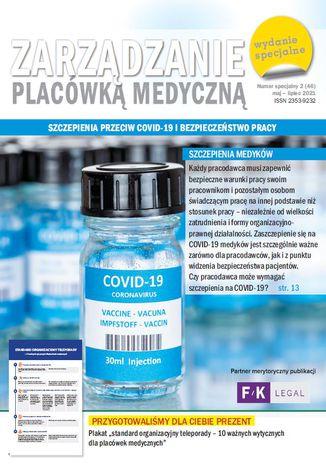 Zarządzanie placówką medyczną - Szczepienia przeciw COVID-19 i bezpieczeństwo pracy