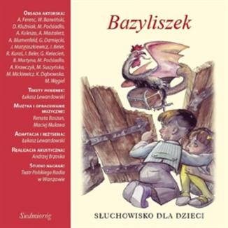 Okładka książki Bazyliszek