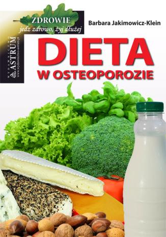 Okładka książki Dieta w osteoporozie