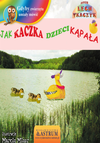 Okładka książki Jak kaczka dzieci kąpała - bajka