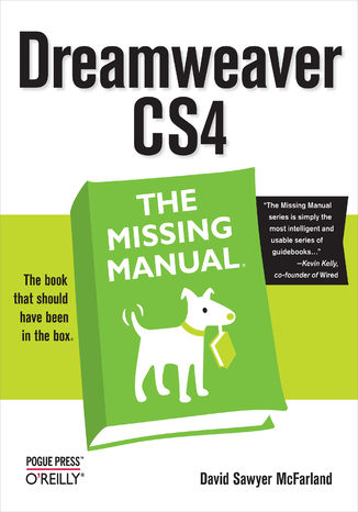 Okładka książki Dreamweaver CS4: The Missing Manual. The Missing Manual