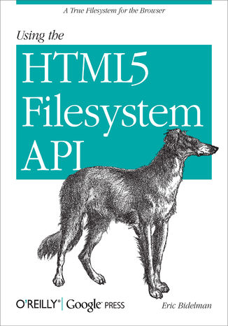 Okładka książki/ebooka Using the HTML5 Filesystem API. A True Filesystem for the Browser
