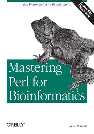 Okładka książki Mastering Perl for Bioinformatics