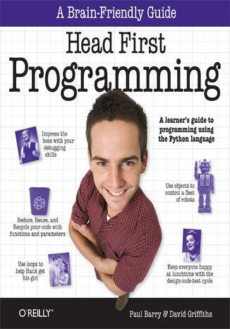 Okładka książki Head First Programming. A learner's guide to programming using the Python language