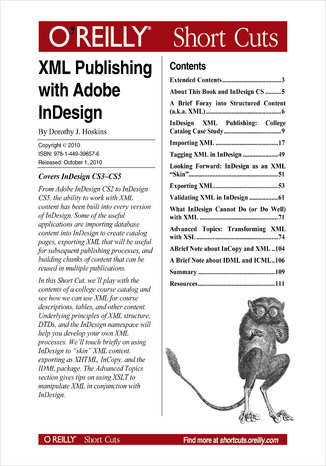 Ebook XML Publishing with Adobe InDesign