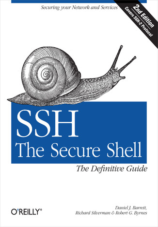 Okładka książki SSH, The Secure Shell: The Definitive Guide. The Definitive Guide. 2nd Edition