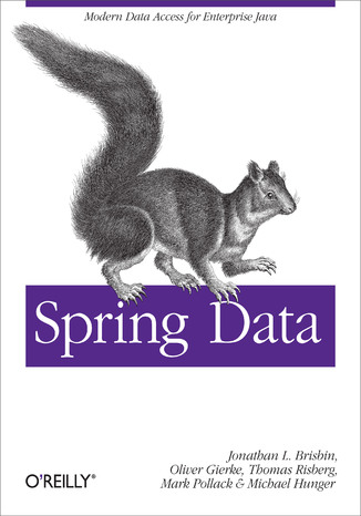 Okładka książki/ebooka Spring Data